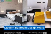 It's Design Wars!  Which bedroom do you prefer?  This or that?  Notify to us...